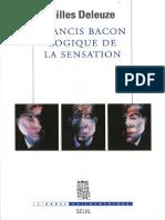 [L'Ordre philosophique] Gilles Deleuze - Francis Bacon, logique de la sensation (2014, Le Seuil).pdf