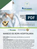 Manejo de ropa hospitalaria, protocolo de limpieza y desinfección.pptx