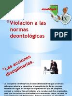 Violación a las normas deontológicas.pptx