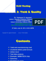 Lecture2 Yield and Quality