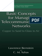 Basic concepts for Managing telecommunication networks