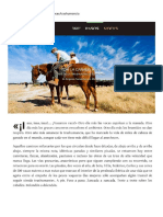 Por la cañada real. Vías de la trashumancia española (Altaïr Magazine, 19-01-15)
