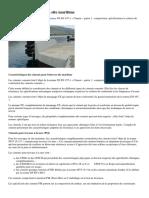 Ciments pour betons en site maritime