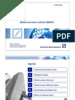 Global Economic Outlook 2009-10_OCT09 Deutsche