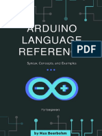 Arduino Language Reference Syntax, Concepts, and Examples