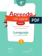 clase 7 lenguaje 4°