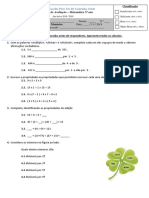 Matemática 5ºano