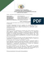 2013-00438 resuelve incidente de nulidad