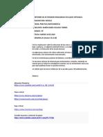 INFORME DE ACTIVIDADES VIRT G7B
