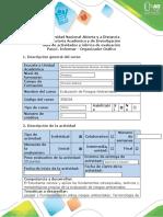 Guía actividades y rúbrica de evaluación - Paso 1 - Informar organizador gráfico.docx