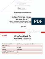 PPT Primera clase Agua potable y Alcantarillado.pptx