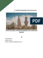Biography  of the  Shaikh Shuhabuddin Umar Suherwardi