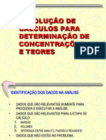 CONCENTRAÇÕES E DILUIÇÕES Jun2019