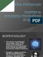 Chapter 3 - Biological Foundations of Behavior (1)