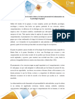 Diferencias entre la teoría clásica y la teoría psicosocial de Latinoamérica en la psicología de grupos.