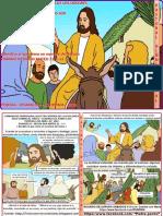 HOJITA EVANGELIO NIÑOS DOMINGO DE RAMOS  A20 SERIE