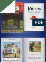 Antony Browne - Voces en el parque