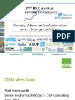 CIRIA Weirs Guide