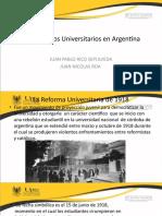 Movimientos Universitarios en Argentina