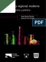 Economía regional moderna teoría y práctica