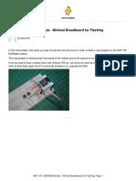 Instructable (ESP-12F-ESP8266-Module-Minimal-Breadboard-for-Flas)