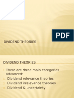 Dividend Theories