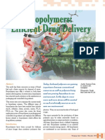 Biopolymers Efficient Drug Delivery