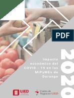 Impacto economico COVID19 Durango