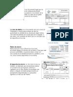 documentos comerciales