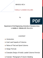 minggu ke 4 Design of axially loaded short column