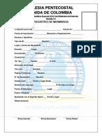 Registro de Miembros