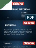 GRANDEZAS ELÉTRICAS