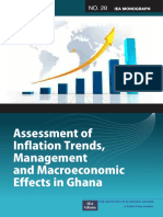 Assessment of Inflation Trends Management and Macroeconomic Effects in Ghana