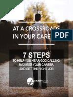Crossroads Career 7 Steps Pamphlet