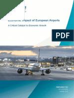 Economic Impact of European Airports - January 2015