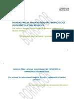 Manual infraestructura resiliente Agua Potable y Saneamiento