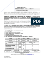 HT - PERMAFLEX CUBIERTA CON ACABADO 1500X1600 NARANJA 2019