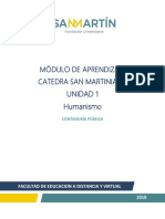 Unidad 1 Catedra Sanmartiniana