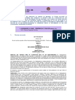 Corte Constitucional Comunicado No. 08 del 19 y 20 de febrero de 2020