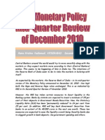 Monetary Policy RBI Mid Quarter Review of Dec.2010 VRK100 17122010
