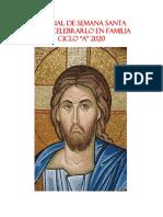 Manual de Semana Santa Celebrar en Familia