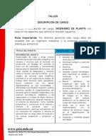 Taller de Descricpción de cargo.docx
