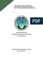 MODO DE PRODUCCIÓN - DIAGRAMA