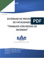 13 Estándar de prevención de fatalidades trabajos con riesgo de incendio. Rev1