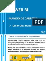 DMConline - Manejo de carpetas en PowerBI