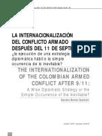 La internacionalización del confliccto armado colombiano después del 11 de septiembre.pdf