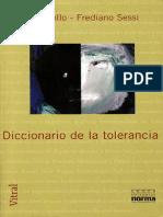 Paolo Collo y Frediano Sessi. Diccionario de la tolerancia.