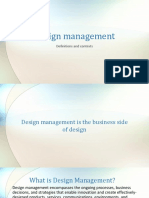 design mamangement introduction