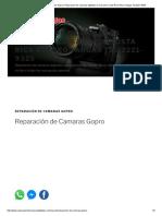 Reparación de Camaras Gopro _ Reparacion de camaras digitales en San jose Costa Rica Arturo Vargas Tel_2221-9325