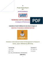 Ntpc-project Report on w.c. Management at Sstpc-By Vidya Sagar